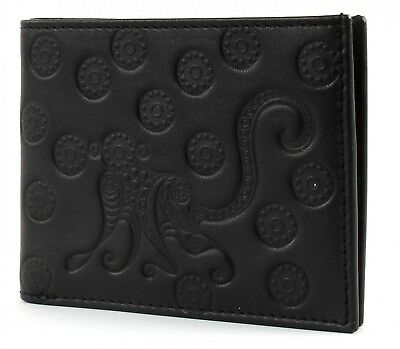 oxmox Purse Leather Pocket Cards Monkey