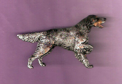 English Setter Tri Color Brooch Pin Jewelry