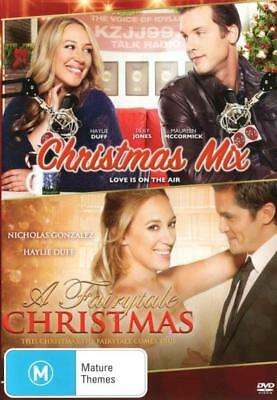 Christmas Mix & A Fairytale Christmas DVD R4 New! *