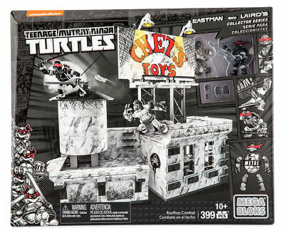 Mega Bloks DPD80 - Teenage Mutant Ninja Turtles - Eastman and Laird´s - Rooftop