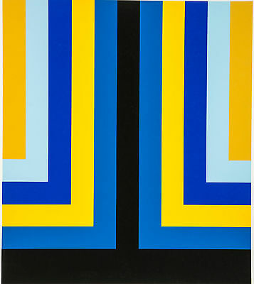 "HOWARD  MEHRING (1931 - 1978) ""Power of Colours""  Handsigniert"