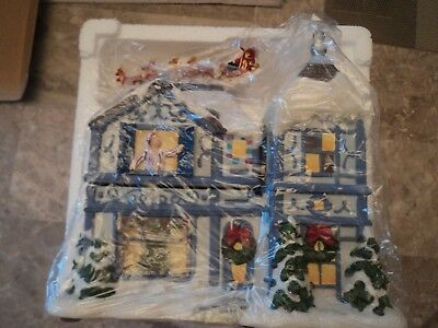 Partylite Night Before Christmas Musical Tealight House New In Box Free Shipping