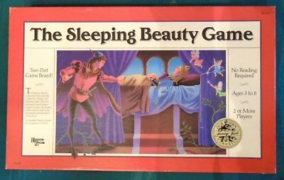 The Sleeping Beauty Game New University Games Ages 3-8 Castle Prince