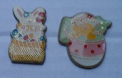 2 Pins Comic Ostern Osterei