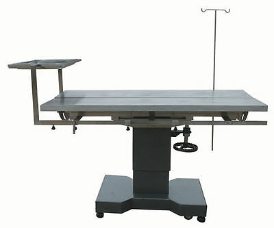 New Veterinary Surgical Operating Table DH27 Hydraulic Lift Stainless Tilt V-Top