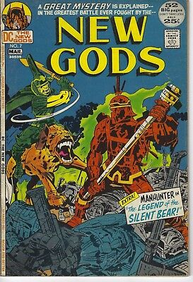 New Gods #7, 1St Steppenwolf, Dc 1972, Vg Condition, Justice League Movie!