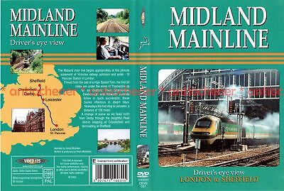 DVD: Midland Mainline - London to Sheffield (Cab Ride) (Video 125 DVD)