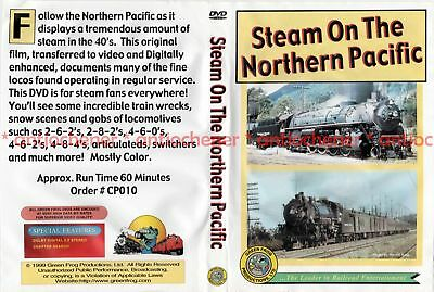 DVD: Steam On The Northern Pacific (Green Frog DVD)