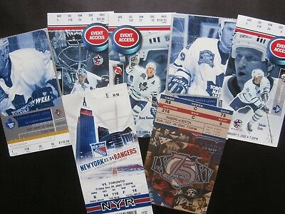 Toronto Maple Leafs & New York Rangers - Ticket Selection