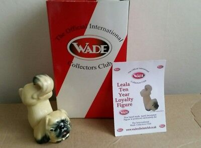 Wade Leala Collectors Club 10 year Loyalty Figure