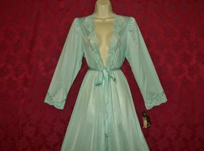 """Stunning Vtg Nwt Olga Peignoir/robe For Your Nightgown S Bust To 40"""""""