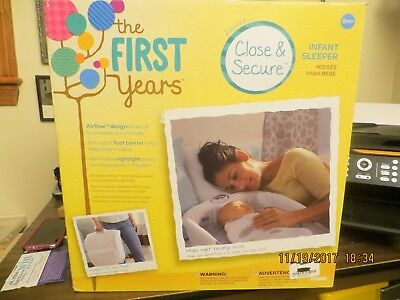 First Years Close And Secure Infant Sleeper Nib