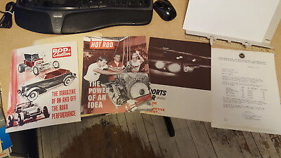 Lot Vintage 1970s Hot Rod Magazines Motor Trend Car and Driver Advertising