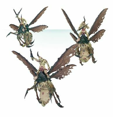 Chaos PLAGUE DRONES OF NURGLE x 3 - Age of Sigmar New on Sprue