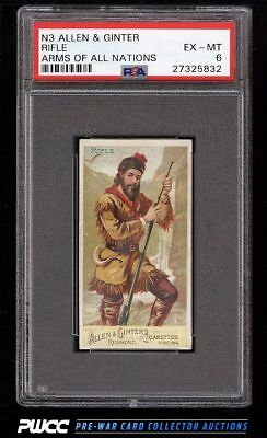 1887 N3 Allen & Ginter Arms Of All Nations Rifle PSA 6 EXMT (PWCC)