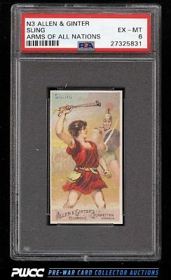 1887 N3 Allen & Ginter Arms Of All Nations Sling PSA 6 EXMT (PWCC)