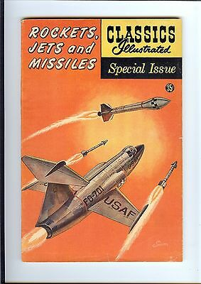 Classics Illustrated Rockets Jets And Missiles #159A Gilberton Hrn156 Vg/fn