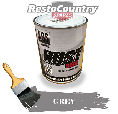 KBS RustSeal GREY 500ml Rust Seal Paint Rust Preventive Coating