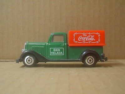 Spanish Coca Cola Die Cast and Plastic Toy CE Delivery Truck ~ 1930 USA