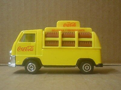 Spanish Coca Cola Die Cast and Plastic Toy CE Delivery Truck ~ 1950 France