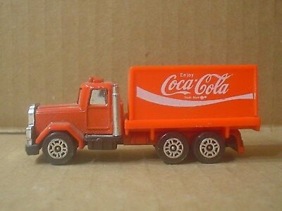 Coca Cola Die Cast and Plastic Delivery Truck ~ Corgi Juniors ~ England