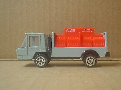 Spanish Coca Cola Die Cast and Plastic Toy CE Delivery Truck ~ 1960 Spain