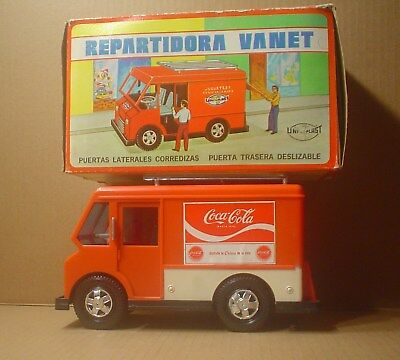 Coca Cola Repartidora Vanet ~ Delivery Van in Box ~ Mexico ~ Uni-Plast