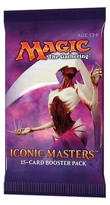 MTG - Magic: the Gathering Iconic Masters Booster Pack x15 Cards :: New & Sealed