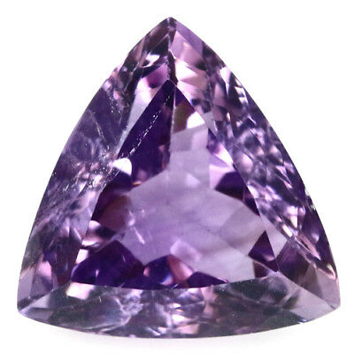14.25 Ct Natural! Purple Clr Change To Pink Amethyst Trillion Brazilian