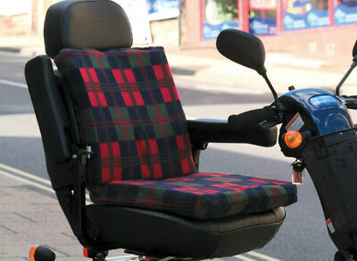 Mobility Choices 2-Way Sculptured Support Cushion with Tartan Cover