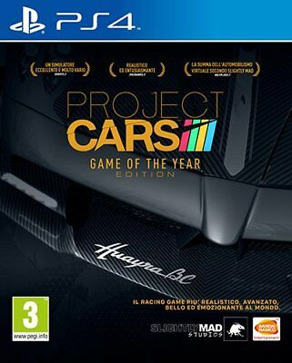 PS4 Game Project Cars Game of the Year GOTY Edition NEW MERCHANDISE