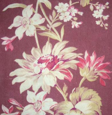 BEAUTIFUL GENTLY FADED 19th CENTURY FRENCH LINEN & COTTON, REF PROJECTS