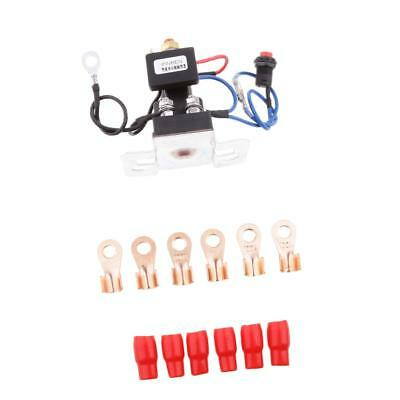 Battery System Isolator Dual Suit 4Wd Caravan Agm Deep Cycle