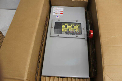 Eaton  100Amp, 2 Pole Heavy Duty Safety Switch ( DH263FDKW )