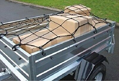 Large 120cm x 180cm Stretch Trailer Cargo Net Boot 12 Hooks Rack Car Truck Rack