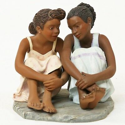 Brenda Joysmith- Our Song- Sisters and Secrets Figurine, African American Art