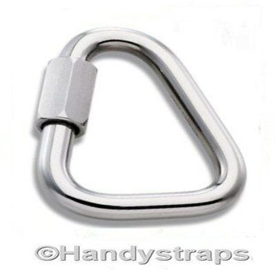6mm Delta Triangle Quick Repair Link  Marine Stainless Steel