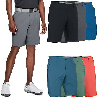 2018 Under Armour Mens Match Play Tapered Shorts - UA Golf Heatgear Performance