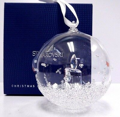 Ball Christmas Ornament, Annual Edition 2017 Swarovski Crystal #5241591