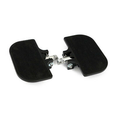 Black Mini Floorboards With Rubber Inlay For Harley-Davidson