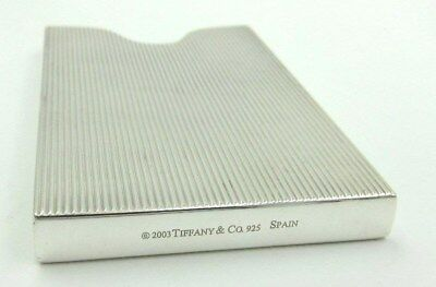Authentic Tiffany & Co. Sterling Silver Business Card Case
