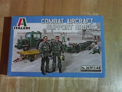 Italeri Combat Aircraft Support Group 1/48