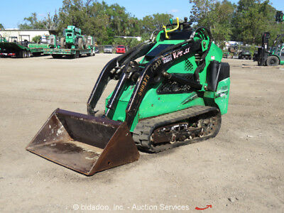 2013 Vermeer S650TX Walk Behind Mini Skid Steer Loader Track bidadoo