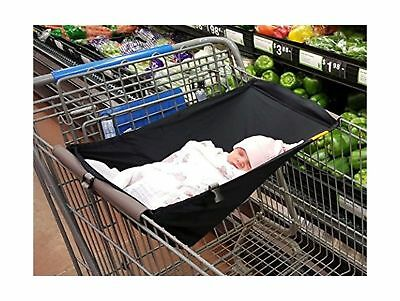Binxy Baby Shopping Cart Hammock Black pre owned