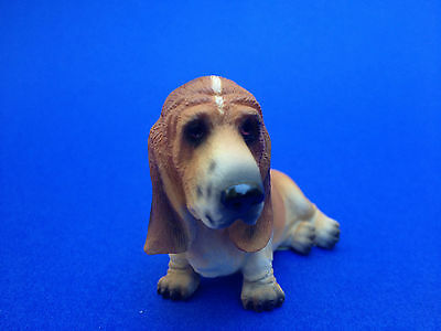 Basset Hound Collectible Poly Resin Home Decor Statue Figurine Pet Dog Doggy