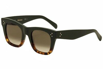 Celine Women's CL 41089S 41089/S FU5/Z3 Black/Havana/Tortoise Sunglasses 47mm