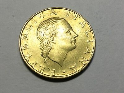 ITALY KM164 1994 200 Lira coin about  uncirculated