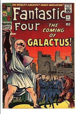 Fantastic Four #48 Vol 1 Near Perfect High Grade 1st App Silver Surfer /Galactus