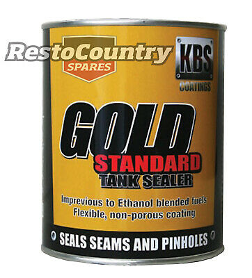 KBS Gold Standard Fuel Tank Sealer 1 Ltr Car Motorbike Rust Corrosion Prevention