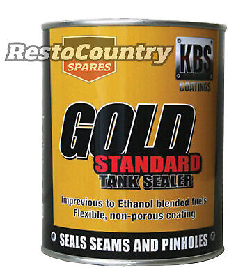 KBS Gold Standard Fuel Tank Sealer 4 Ltr Car Motorbike Rust Corrosion Prevention